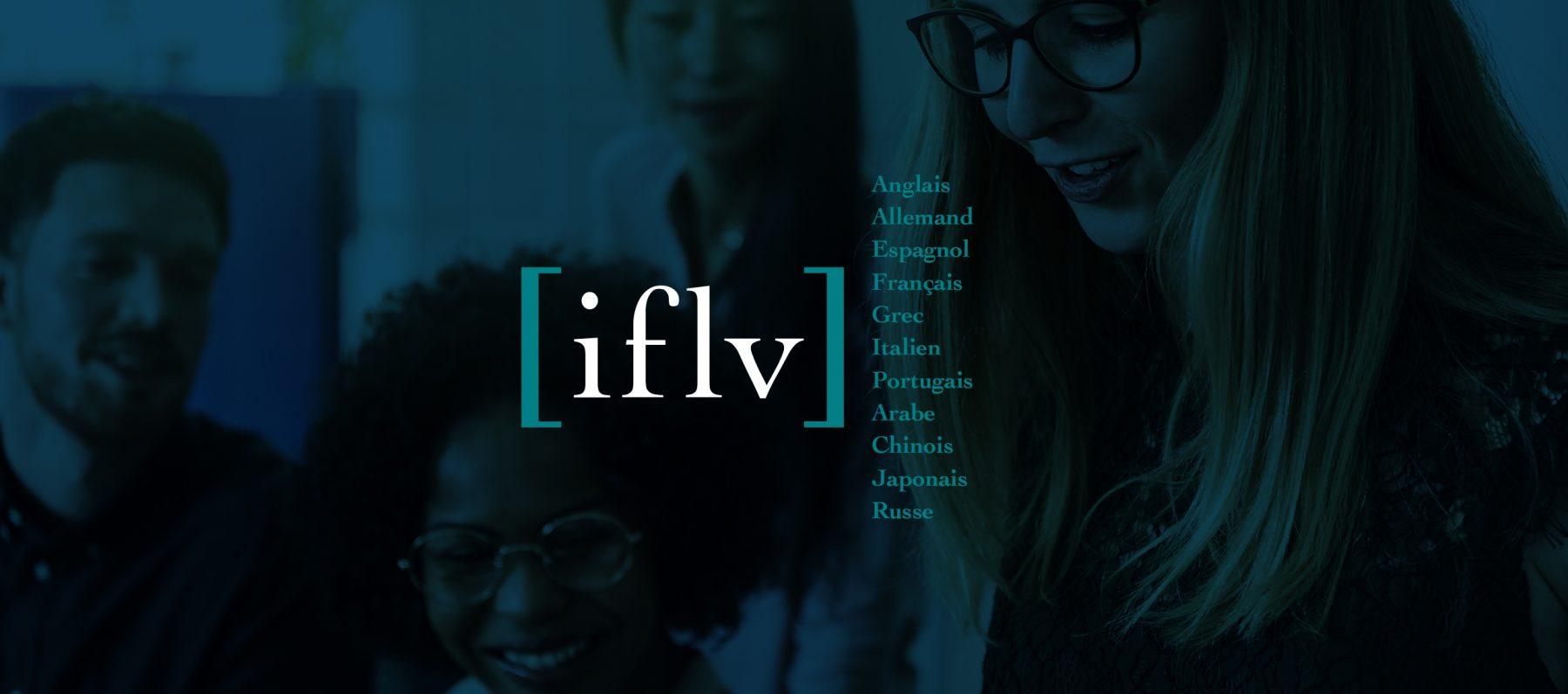 logo IFLV institut de formations en langues vivantes